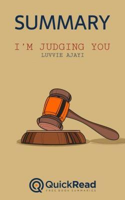 I'm Judging You